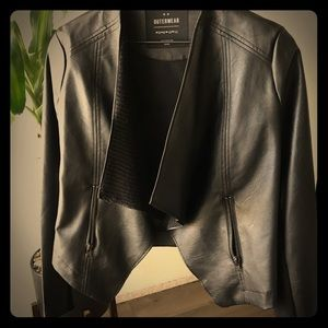 Cotton on pleather jacket size 8